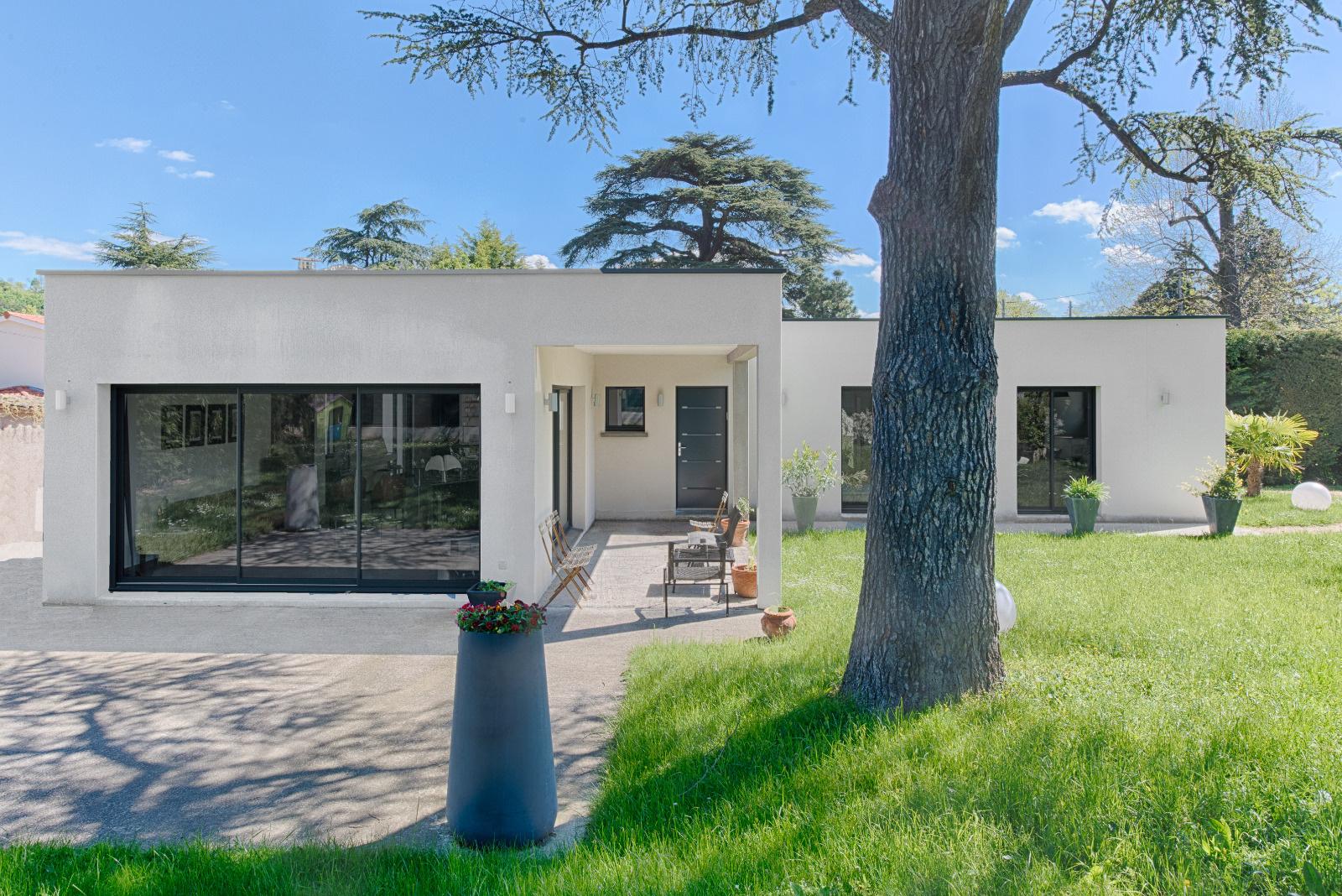 Immobilier collonges au mont d or location et vente for Maison contemporaine prix m2